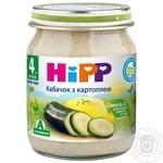 Пюре Hipp кабачок с картофелем 125г