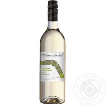 Вино Central Creek Коломбард Шардоне белое сухое 12% 0,75л