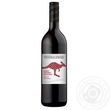 Central Creek Shiraz Cabernet Sauvignon Wine red dry 13% 0,75l