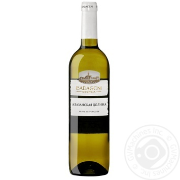 Вино Badagoni Алазанская долина белое полусладкое 10% 0,75л
