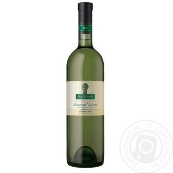 Вино Marani Алазанская Долина белое полусладкое 750мл