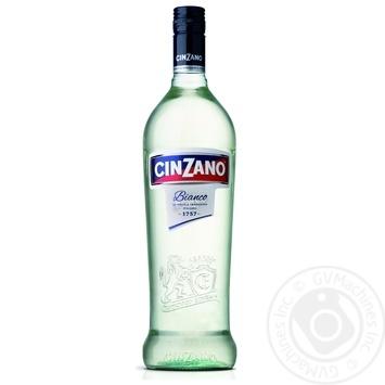 Вермут Cinzano Bianco белый сладкий 15% 0,5л