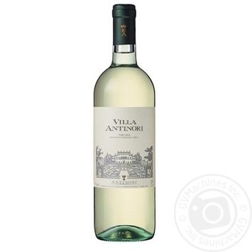 Wine trebbiano Antinori white dry 12% 750ml glass bottle Toscana Italy