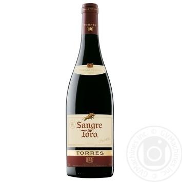 Вино Torres Sangre de Toro красное сухое 12% 0,75л