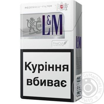 Цигарки L&M Silver Label - купити, ціни на Novus - фото 2