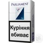 Cigarettes Parliament One