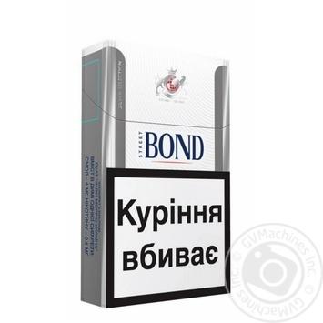 Сигареты Bond Street Silver Selection - купить, цены на Фуршет - фото 1