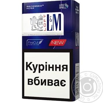 Сигареты L&M Loft Night Blue - купить, цены на Novus - фото 1