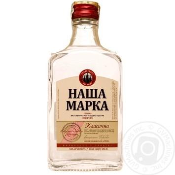 Nasha Marka Classic vodka 40% 0,25l