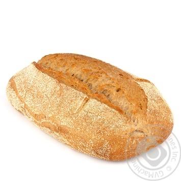 Хлеб пшеничный без дрожжей 350г - купить, цены на Ашан - фото 1