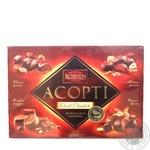 Конфеты Roshen ассорти черный шоколад 430г картонная коробка Украина