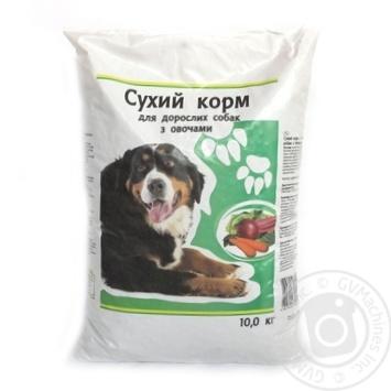 Сухой корм Каждый день для взрослых собак с овощами 10кг - купить, цены на Ашан - фото 2