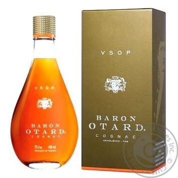 Коньяк Baron Otard V.S.O.P. 40% 0.7л - купить, цены на МегаМаркет - фото 5