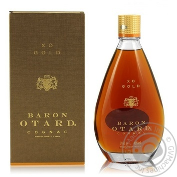 Baron Otard XO Gold сognac 40% 700ml - buy, prices for Novus - image 1