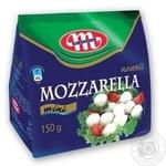 Сыр Mlekovita Моццарелла 19% 150г