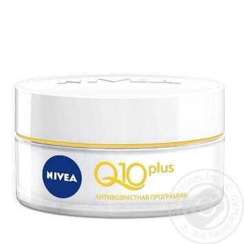 Крем Nivea Q10 plus надає шкірі енергію проти зморшок для обличчя 50мл - купити, ціни на Novus - фото 4
