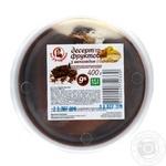 Десерт творожный Пани Хуторянка с шоколадом и бананом 9% 400г