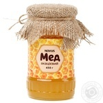 Мед натуральний акацієвий Novus 450г - купить, цены на Novus - фото 1