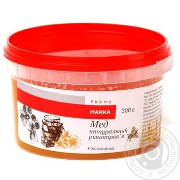 Marka Promo Natural Polyfleur Honey 300g - buy, prices for Novus - image 1