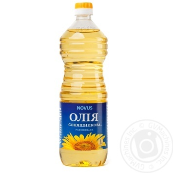 Oil Novus sunflower refined 1000ml plastic bottle - buy, prices for Novus - image 1