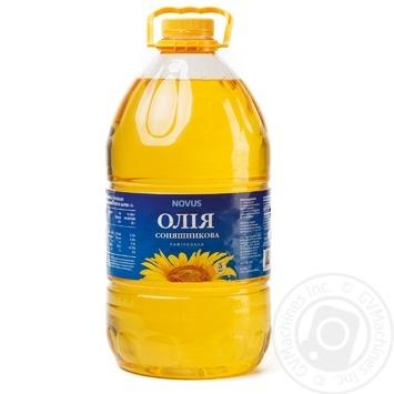 Oil Novus sunflower refined 5000ml - buy, prices for Novus - image 2