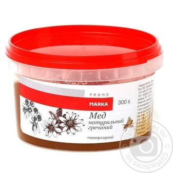 Marka Promo Natural Buckwheat Honey 300g - buy, prices for Novus - image 1