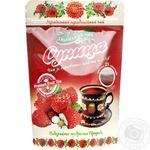 Tea Polissia tea Polissia Wild strawberry 25х2g teabags Ukraine