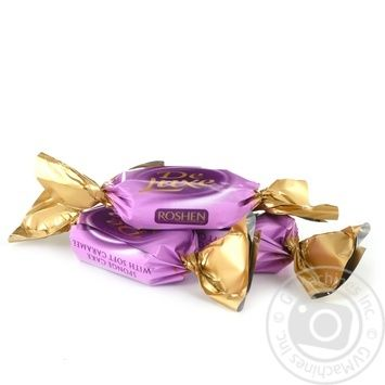 Конфеты Roshen De Lux бисквит желе и карамель