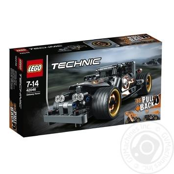 Скидка на Конструктор LEGO Technic Гоночный автомобиль для побега 42046