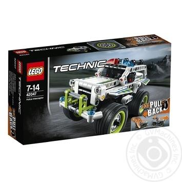 Скидка на Конструктор LEGO Technic Полицейский патруль 42047