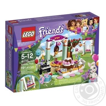 Конструктор LEGO Friends День народження 41110