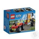 Конструктор LEGO City Fire Пожарный квадроцикл 60105