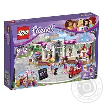 Скидка на Конструктор LEGO Friends Кондитерская 41119