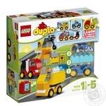 Конструктор LEGO DUPLO My First Мои первые машинки 10816
