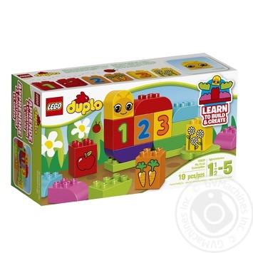 Скидка на Конструктор LEGO DUPLO My First Моя веселая гусеница 10831