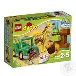 Конструктор LEGO DUPLO Town Вокруг света: Африка 10802