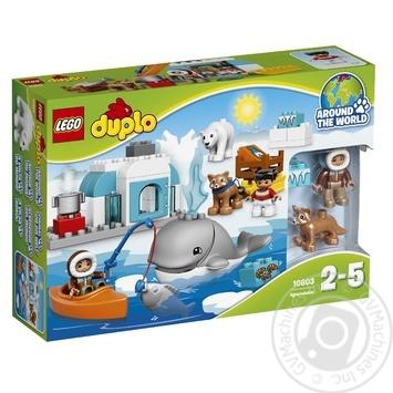 Скидка на Конструктор LEGO DUPLO Town Вокруг света: Арктика 10803