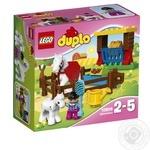 Конструктор LEGO DUPLO Town Лошадки 10806