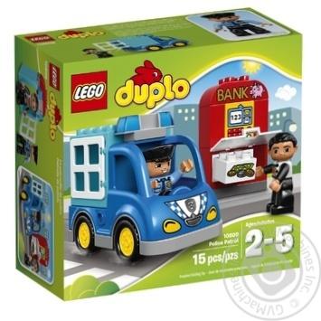 Скидка на Конструктор LEGO DUPLO Town Полицейский патруль 10809
