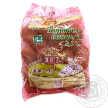Картопля Домашня Ваші овочі 2,5кг