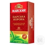 Чай Майский Царская корона черное пакетированный 50г Украина