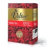 Чай черный цейлонский байховый VILTER Рekoe 100г