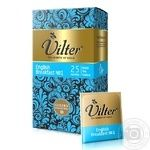 Black pekoe tea Vilter English breakfast №1 Ceylon 25x2g teabags