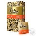 Чай черный цейлонский байховый VILTER в пакетиках 25х2г