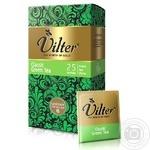 Чай зеленый китайский байховый VILTER Классический в пакетиках 25х1.5г