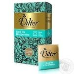 Black pekoe tea Vilter with mint Ceylon 25x2g teabags