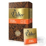 Tea Vilter Kenyan breakfast black packed 25pcs 50g cardboard packaging