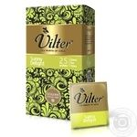 Tea Vilter green packed 25pcs 37.5g cardboard packaging