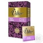 Tea Vilter black packed 25pcs 50g cardboard packaging