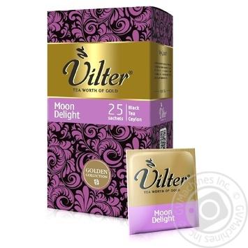 Чай черный VILTER Moon Delight в пакетиках 25х2г